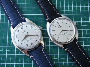 時計ベルトをモレラートのルノワールに交換したオメガ シーマスター
