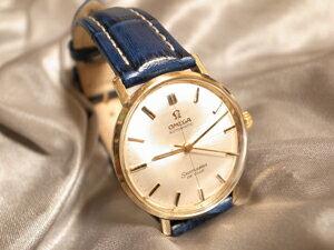 時計ベルトをモレラートのプラスに交換したオメガ シーマスターデビル