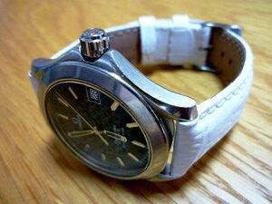 時計ベルトをモレラートのタンゴに交換したオメガ シーマスター