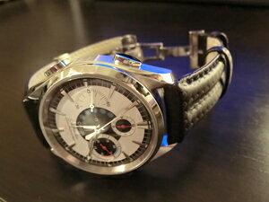 時計ベルトをモレラートのスピードに交換したオメガ シーマスターNZL32スタートディスプレイ
