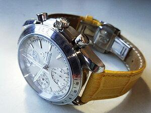 時計ベルトをモレラートのボーレに交換したオメガ スピードマスター