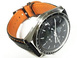 時計ベルトをモレラートのバイキングに交換したオメガスピードマスター