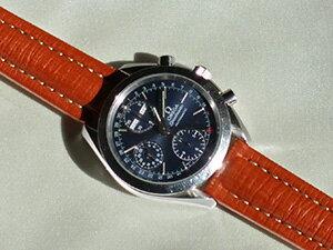 時計ベルトをモレラートのティポ ブライトリング クオイオに交換したOMEGA スピードマスター