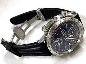 時計ベルトをモレラートのケイマンに交換したOMEGA スピードマスター デイデイト