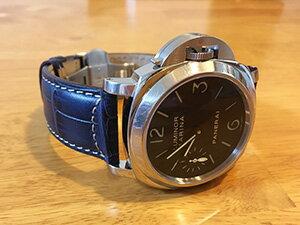 時計ベルトをモレラートのプラスに交換したパネライ PAM00111