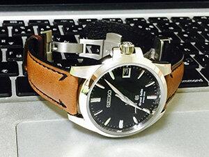時計ベルトをモレラートのフォンタナに交換したグランドセイコー sbga027