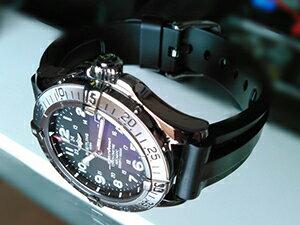 時計ベルトをモレラートのマリナーに交換したブライトリング スーパーオーシャン42
