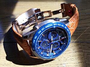 時計ベルトをディモデルのクロコダイルベントレイに交換したセイコー アストロンSBXB057