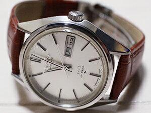 時計ベルトをモレラートのボーレに交換したセイコー キングセイコー56
