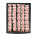 老舗 あんこ屋さんの【プチ桜のようかん】35gx35個(黒化粧箱入り)のし、包装対応可(無料)ご贈答