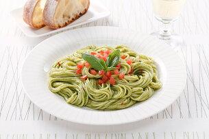 スパゲティ ジェノベーゼ ポイント
