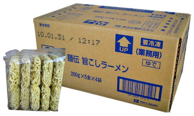 東洋水産 麺伝旨こしラーメン 200g×20食入...の商品画像