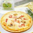 【冷凍】ミラノ風カルボナーラピッツア #800 170G (エムシーシー食品/洋風調理品/ピザ)