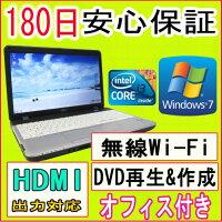 ��ťѥ�������ťΡ��ȥѥ�����ڤ������б��ۥƥ��դ�11n����̵��LAN�����ץ��դ�FUJITSULIFEBOOKA530/AXCorei3M3502.20GHz/2GB/HDD160GB/DVD�ޥ���ɥ饤��/Windows7Professional/�ꥫ�Х��ΰ衦OFFICE2013�դ���ťѥ�����Ρ������