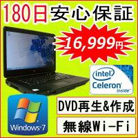 ��ťѥ�������ťΡ��ȥѥ�����ڤ������б���11n�б�����USB̵��LAN�����ץ��դ�Windows7���NECVersaProVA-ACeleron9002.20GHz/DDR32GB/HDD160GB(DtoD)/DVD�ޥ���ɥ饤��/�ꥫ�Х��ΰ����532P15May16