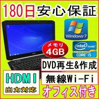 �ڤ������б��ۥѥ�������ťѥ�������ťΡ��ȥѥ�����ƥ��դ���2����Corei5�ץ?�å���DELLLATITUDEE5520Corei5-25202.50GHz/4GB/HDD250GB/̵��LAN��¢/DVD�ޥ���ɥ饤��/Windows7ProfessionalƳ��/OFFICE2013�դ����P23Jan16