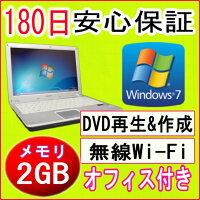 ����MSOFFICE2003�դ�����ťΡ��ȥѥ������SONYVAIOVGN-C51HACeleronM4401.86GHz/PC2-53002GB/HDD100GB/DVD�ޥ���ɥ饤��/̵��LAN��¢/Windows7HomePremiumSP132�ӥå�/�ꥫ�Х�ã��դ���
