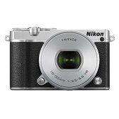 《新品》 Nikon(ニコン) Nikon 1 J5 標準パワーズームレンズキット シルバー【Sandisk microSDHCUHS-I8GBプレゼント】[ ミラーレス一眼カメラ | デジタル一眼カメラ | デジタルカメラ ]