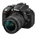 《新品》 Nikon(ニコン) D5300 AF-P 18-55 VR レンズキット ブラック [ デジタル一眼レフカメラ | デジタル一眼カメラ | デジタルカメラ ]【KK9N0D18P】