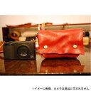 《新品アクセサリー》 ROBERU (ロベル) コンパクトカメラケース   レッド【KK9N0D18P】