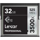 《新品アクセサリー》 LEXAR (レキサー) Professional 3500x Cfastカード 2.0 32GB LC32GCRBJP3500