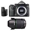 【あす楽】《新品》PENTAX (ペンタックス) KP + DA 18-135mm F3.5-5.6ED AL(IF)DC WR(アウトレット) グリップM ブラック 〔マップカメラオリジナルセット〕[ デジタル一眼レフカメラ | デジタル一眼カメラ | デジタルカメラ ]【KK9N0D18P】