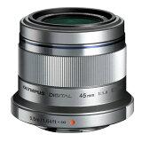 《新品》 OLYMPUS(オリンパス) M.ZUIKO DIGITAL 45mm F1.8 シルバー(マイクロフォーサーズ)[ Lens | レンズ ]
