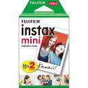 《新品アクセサリー》 FUJIFILM (フジフィルム) チェキ用フィルム instax mini 2パック(10枚入り)【KK9N0D18P】