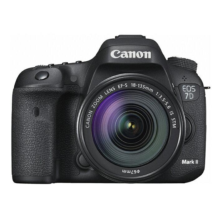 《新品》 Canon(キヤノン) EOS 7D Mark II EF-S18-135 IS STM レンズキット[ デジタル一眼レフカメラ | デジタル一眼カメラ | デジタルカメラ ]