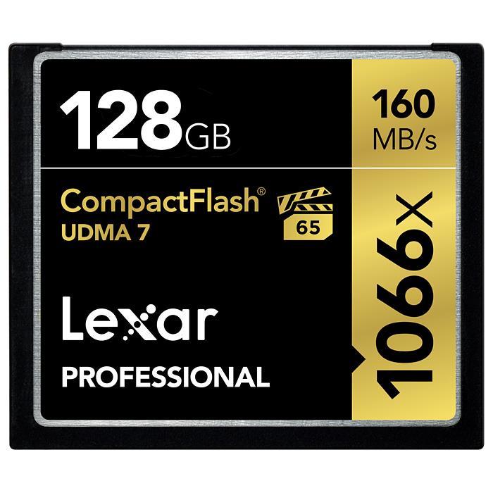 《新品アクセサリー》 LEXAR(レキサー) Professional 1066x CFカード 128GB LCF128GCRBJPR1066