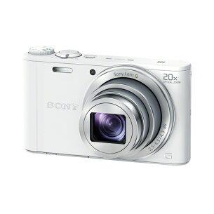 ホワイト コンパクトデジタルカメラ