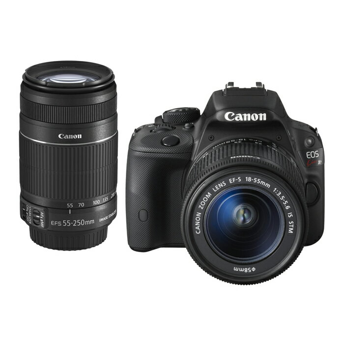 《新品》 Canon(キヤノン) EOS Kiss X7 ダブルズームキット[ デジタル一眼レフカメラ | デジタル一眼カメラ | デジタルカメラ ]