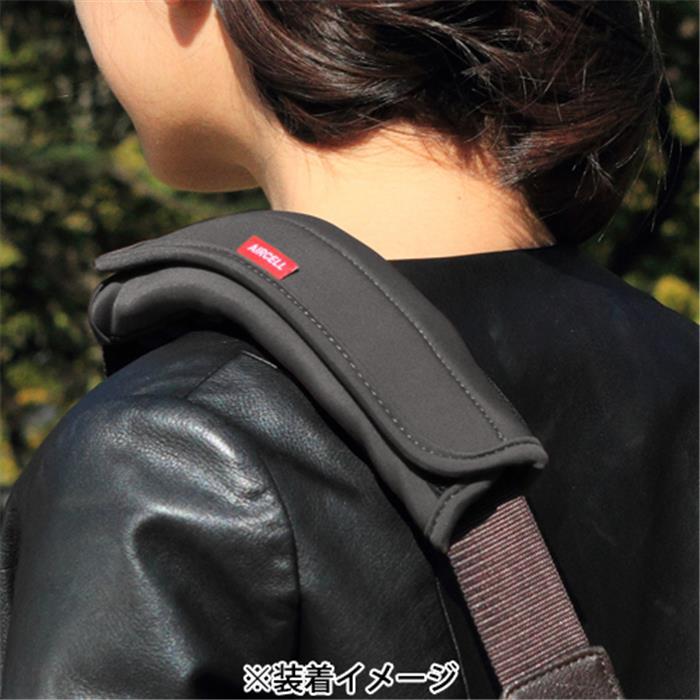 《新品アクセサリー》 Japan Hobby Tool(ジャパンホビーツール) カメラバック用ショルダーパッド エアーセル ネオプレーン ブラック【KK9N0D18P】