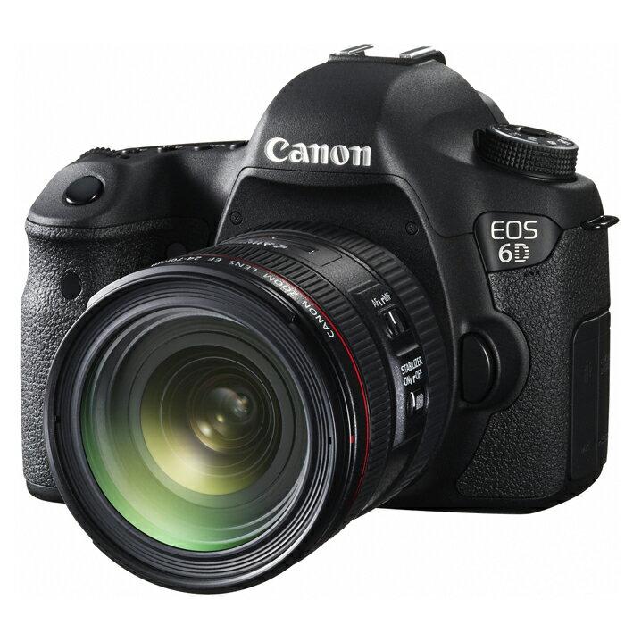 《新品》 Canon(キヤノン) EOS 6D EF24-70L IS USM レンズキット[ デジタル一眼レフカメラ | デジタル一眼カメラ | デジタルカメラ ]