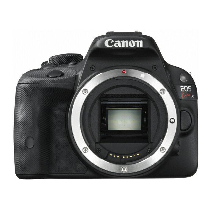 《新品》 Canon(キヤノン) EOS Kiss X7 ボディ[ デジタル一眼レフカメラ | デジタル一眼カメラ | デジタルカメラ ]〔納期未定・予約商品〕