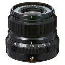 《新品》 FUJIFILM(フジフイルム) フジノン XF23mm F2 R WR ブラック[ Lens | 交換レンズ ]