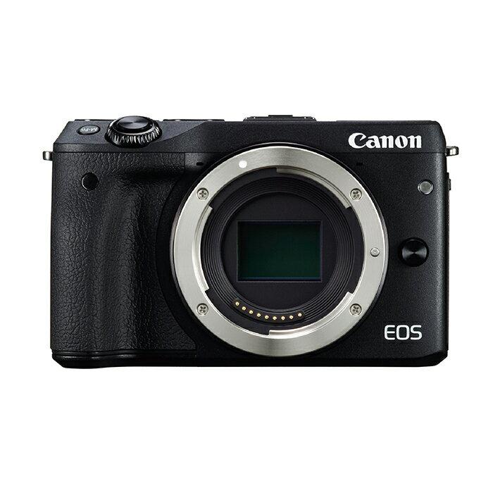 《新品》 Canon (キヤノン) EOS M3 ボディ ブラック[ ミラーレス一眼カメラ | デジタル一眼カメラ | デジタルカメラ ]