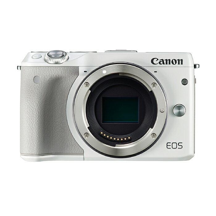 《新品》 Canon (キヤノン) EOS M3 ボディ ホワイト [ ミラーレス一眼カメラ | デジタル一眼カメラ | デジタルカメラ ]