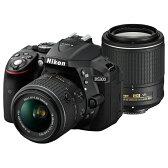 《新品》 Nikon (ニコン) D5300 ダブルズームキット2 ブラック [ デジタル一眼レフカメラ | デジタル一眼カメラ | デジタルカメラ ]※お一人様1点限り