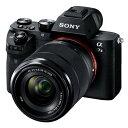 《新品》 SONY(ソニー) α7II レンズキット ILCE-7M2K 【下取交換なら¥20,000-引き】[ ミラーレス一眼カメラ | デジタル一眼カメラ | デジタルカメラ ]【交換レンズと組み合わせて最大¥50,000-キャッシュバック対象】