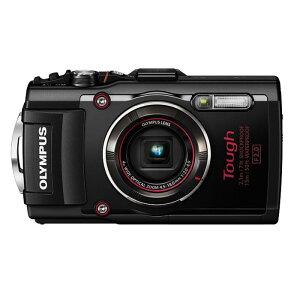 オリンパス ブラック コンパクトデジタルカメラ