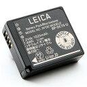 《新品アクセサリー》 Leica (ライカ) リチウムイオンバッテリー BP-DC15U (対応機種 :D-LUX(Typ109) )