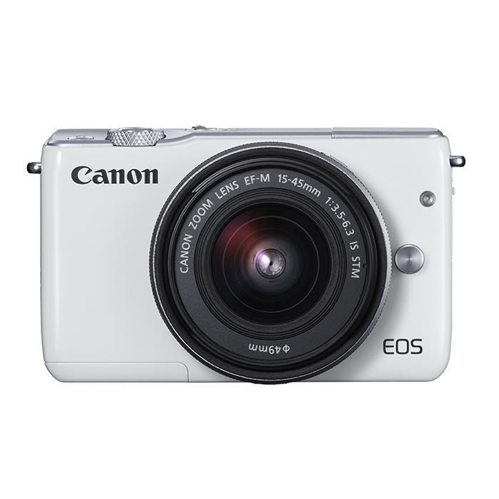 《新品》 Canon (キヤノン) EOS M10 EF-M15-45 IS STM レンズキット ホワイト [ ミラーレス一眼カメラ | デジタル一眼カメラ | デジタルカメラ ]