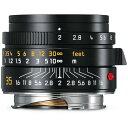 《新品》 Leica(ライカ) ズミクロン M35mm F2.0 ASPH. ブラック [11673][ Lens | 交換レンズ ]【下取交換なら¥10,000-引き】