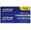 2本セット クレスト 3Dホワイト アークティックフレッシュ 136g Crest 3D White Arctic Fresh Icy Cool Mint ホワ...