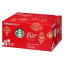 スターバックス コーヒー【ホリデー限定】のコーヒー豆が登場!【54個入り】  キューリグ kカップ K-CUP Starbucks Holiday 2016