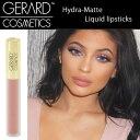 カイリージェンナー愛用 Gerard Cosmetics リキッドリップ マット質感 Hydra Matte Liquid Lipstick