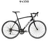 FUJI(フジ) 2016年モデル SPORTIF スポルティフ 2.1 ダーク ブラック/ホワイト サイズ49 完成車 【ロードバイク】【自転車】