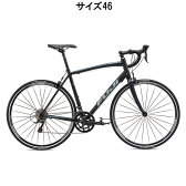FUJI(フジ) 2016年モデル SPORTIF スポルティフ 2.1 ダーク ブラック/ブルー サイズ46 完成車 【ロードバイク】【自転車】