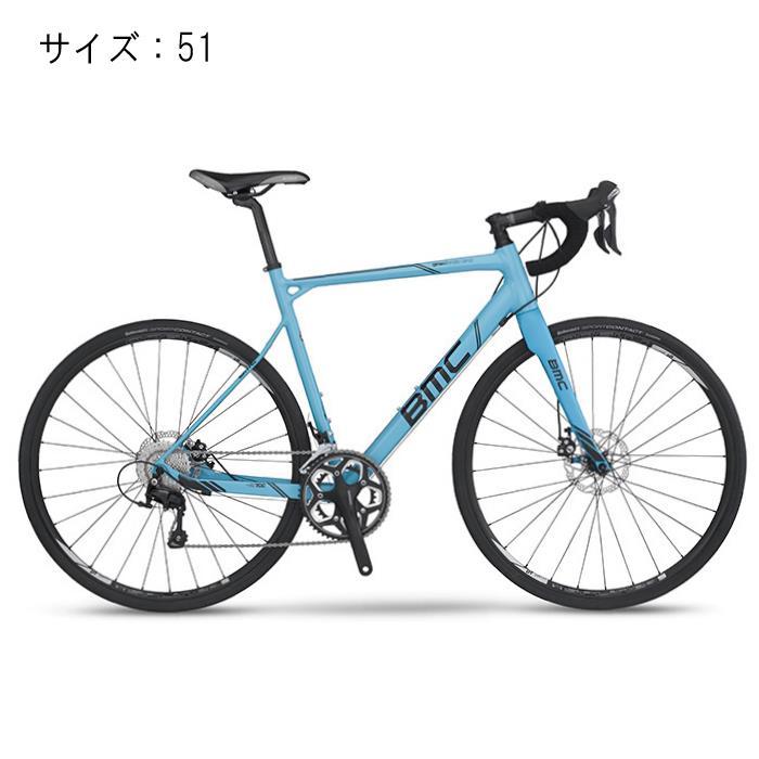BMC (ビーエムシー) 2017モデル granfondo グランフォンド GF02 Disc ブルー 105-5800 サイズ51 【自転車】